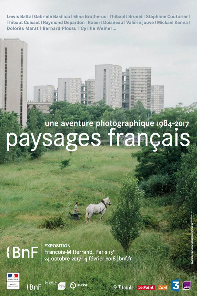 La fabrique du pré exposée dans Paysages français, une aventure photographique 1984-2017, Bibliothèque Nationale de France