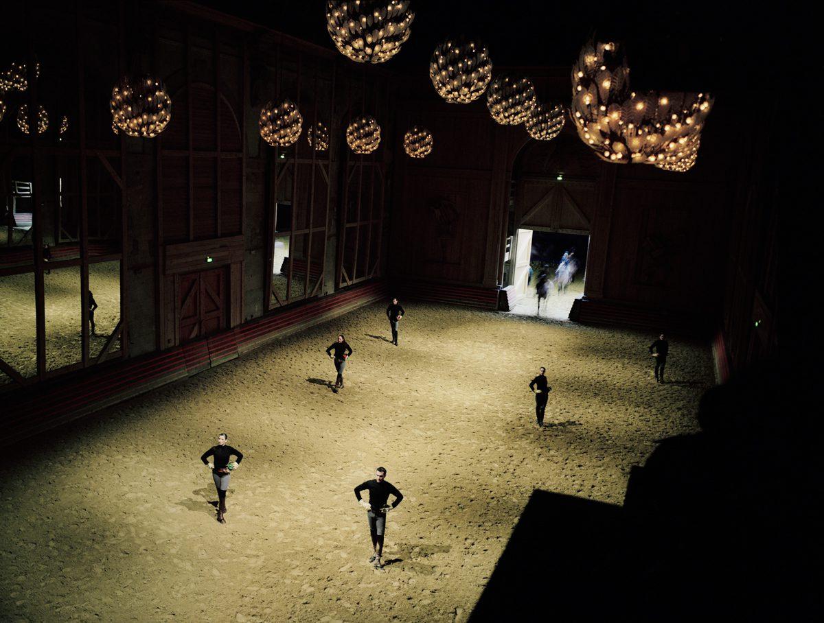 Académie du spectacle équestre de Versailles, Equestrian acade