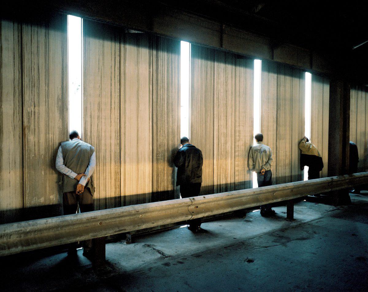 Les longs murs, commande publique du CNAP, Marseille, Euroméditérannée, 2004