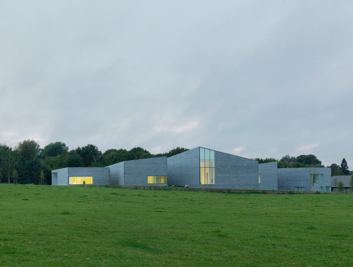 Musée du verre, Sars-Poteries, W-Architectures