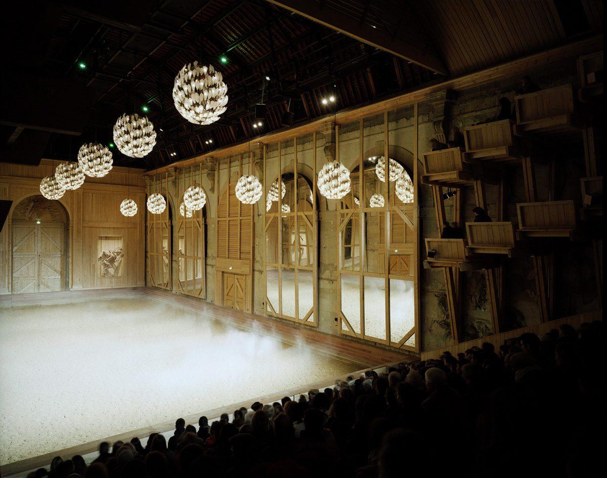 Académie du spectacle équestre de Versailles, Patrick Bouchain