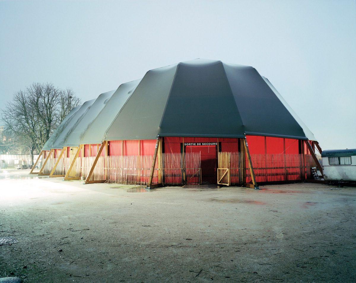 Le caravansérail de la Ferme du Buisson, Patrick Bouchain